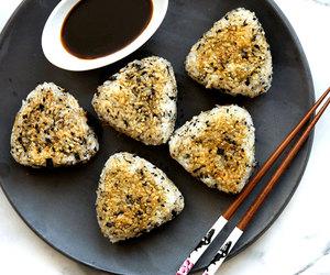 japanese, onigiri, and rice image