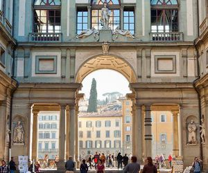 art, florence, and italy image