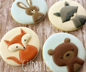 bear, bunny, and Cookies image