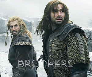 the hobbit, kili, and brothers image