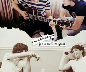 one direction, larry, and larry stylinson image