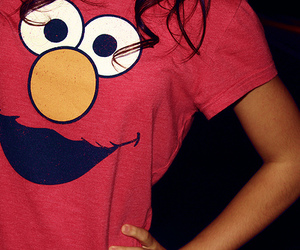 elmo, shirt, and t-shirt image