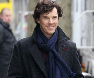 sherlock holmes and benedict cumberbatch image