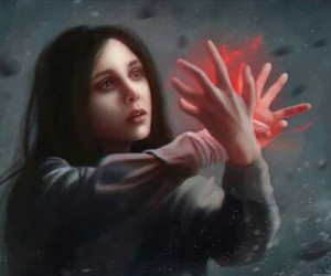 Marvel, Avengers, and scarlet witch image