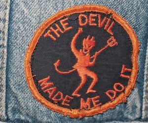 Devil and grunge image