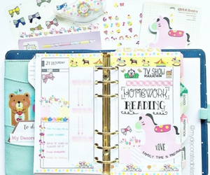 kawaii, planner, and cute image