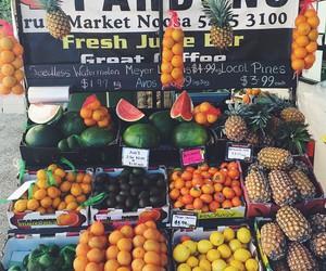 avocado, healthy, and market image