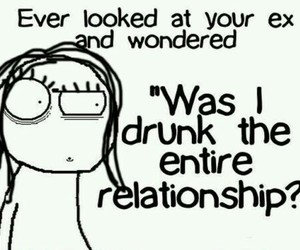 Relationship, drunk, and funny image