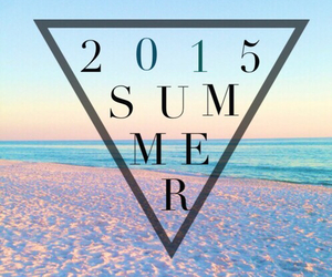 summer, beach, and 2015 image