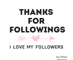 thanks for following! xx image