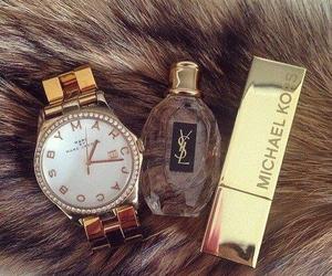 Michael Kors, perfume, and watch image