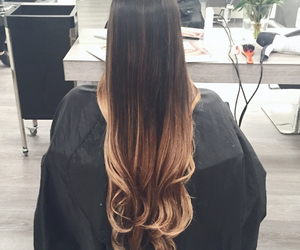 blond, girl, and ombre image