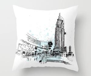 art, city, and Dubai image