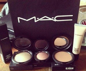 mac, girl, and makeup image