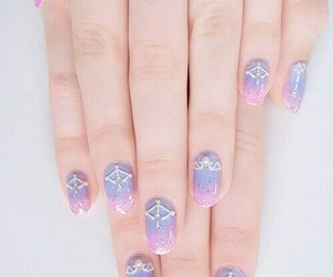 blue, pink, and hands image