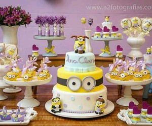 decor, minions, and party image