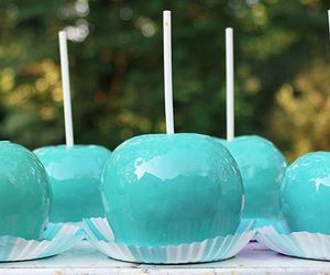 turquoise and apple image