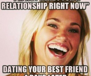 funny, Relationship, and she image