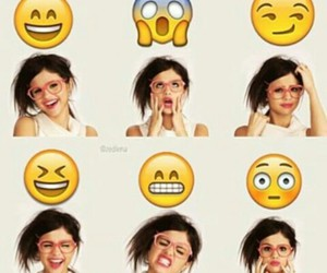 selena gomez and emoji image