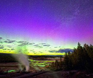 aurora, colorful, and national image