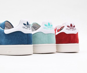 adidas, blue, and red image
