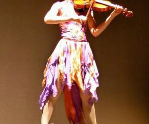 dress, music, and violin image