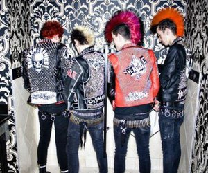 anarchy, black, and leather image