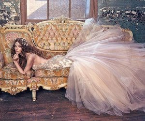 wedding dress, wedding, and galia lahav image