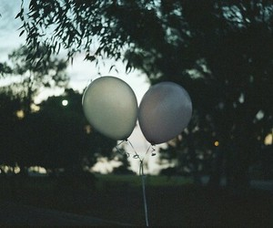 balloons, indie, and vintage image