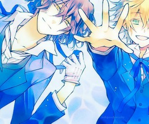 pandora hearts, gilbert nightray, and manga image