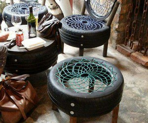 chair and recycled image