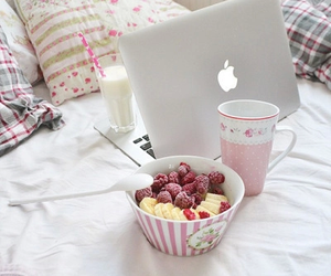 food, fruit, and apple image