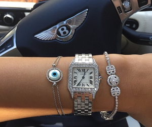 arm candy, jewelry, and Bentley image