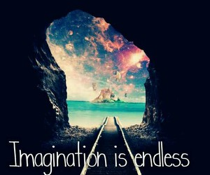 imagination, endless, and quote image