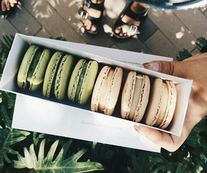 delicious, tasty, and macarones image