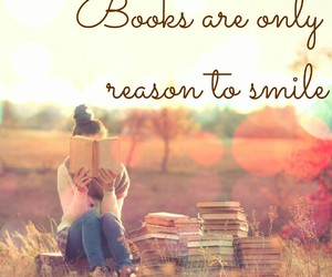 books, read, and smile image