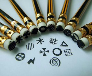 diy and pencil image