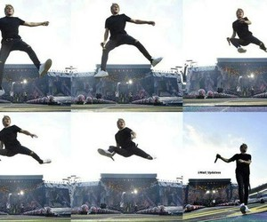 one direction, niall horan, and jump image