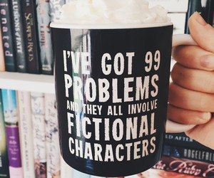 books, fictional characters, and fangirling image