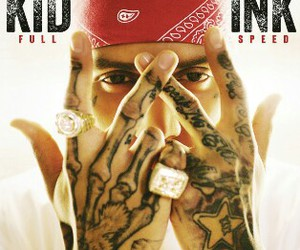 kid ink, tattoo, and album image