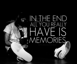 memories, end, and quote image