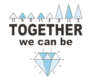 diamond and together image