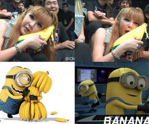 2ne1, asia, and banana image