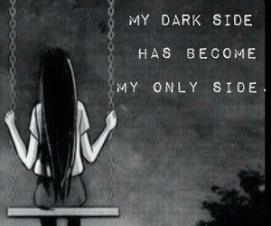 dark side and Darkness image