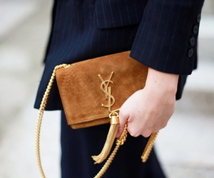 bag, YSL, and style image