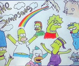 brat, homer, and Krusty image