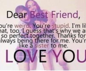 best friends, friends, and sisters image