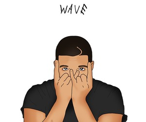 Drake, ovo, and wave image