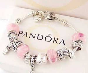 pandora, bracelet, and girly image