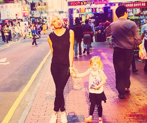 lou teasdale, lux, and baby lux image